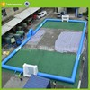 inflatable soap soccer football goal field rental sale moveable soccer pitch