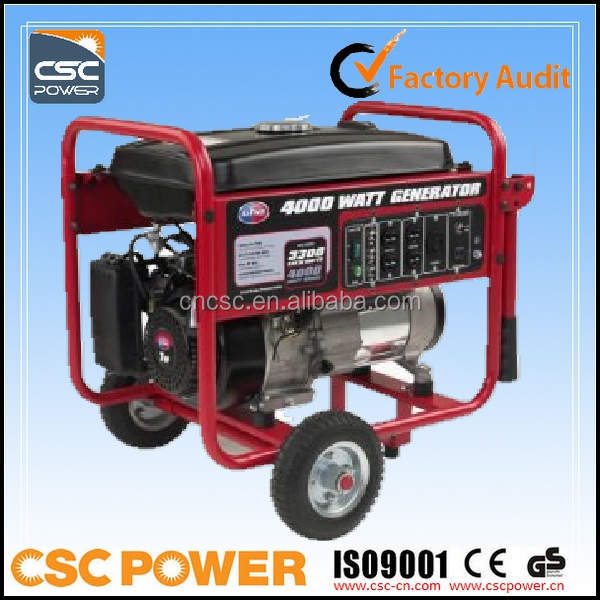 mini generator diesel 3kva with price with CE ISO