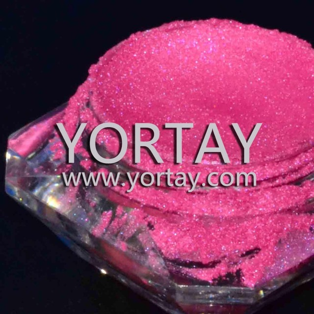 Rose red pearl pigment for cosmetics, pearlescent pigment manufacturer