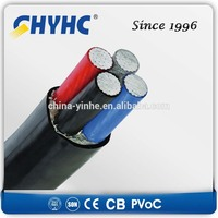 Power Cable 0.6/1kv PVC/XLPE Insulated Sheathed Steel Tape/Wire/AL Wire Armoured Low Voltage 185mm2 cable