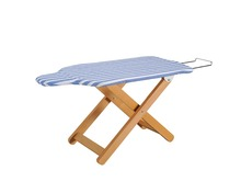 WD-2 luxury wooden ironing board easy folding clothes ironing board with wooden legs most popular in Japan