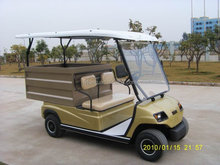 Yellow Small 2 Seaters Electric Golf Cargo Car (LT_A2.H2)
