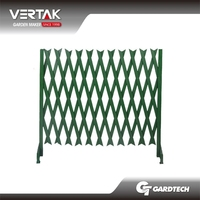 PVC plastic flexible garden fence
