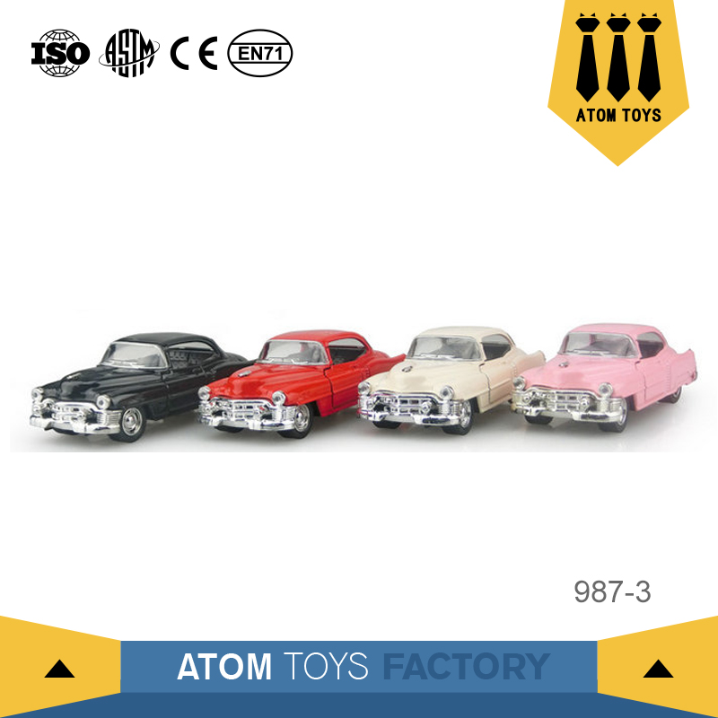 2017 pull back toy 1 32 famous brand metal handmade model car for wholesale