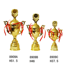 China Wholesale Soccer Trophy Cup Custom Gold Football Trophies Cups