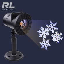 Snow Outdoor Holiday Waterproof Landscape laser Projector Lights