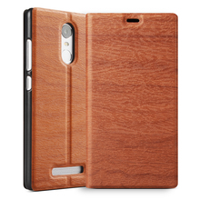 flip leather back case cover for xiaomi redmi note 3