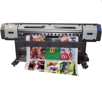 eco solvent digital DX5 inkjet printer paper plotter eco solvent printer
