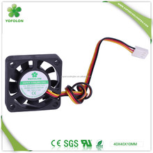 4010 dc toyon fan 12V 19V 24V brushless dc axial cooling fan