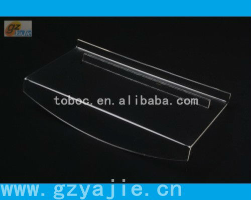 (B-3001)acrylic shoe display rack, shoe store display racks