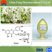 GMP Certified Pure Natural Sophora japonica flower extract Rutoside Rutin sophorin rutoside trihydrate rutin vitamin c