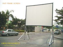Fast fold/quick fold Screen/Easy folding projection screen 200""