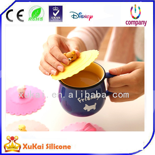fashion silicone cup cover lid 01