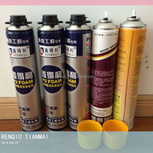 750ml corrosion prevention and electrical insulation pu foam sealant