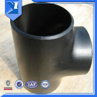 Oil And Gas Pipe Fitting Straight Tee Pipe