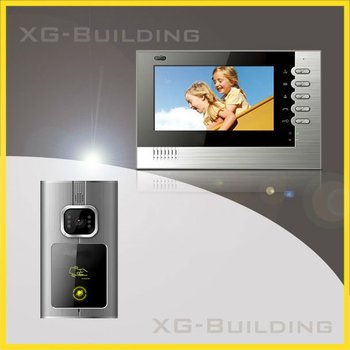 7 inch video intercom system for villa with access control door station