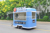 4.835m unique CE Approved customized small food truck trailer with bbq grill and various cooking pot