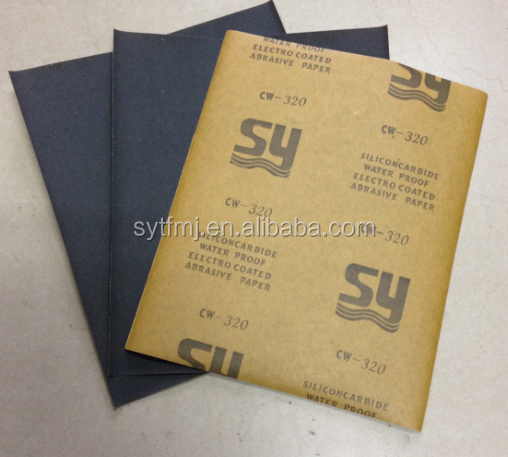 Abrasive 230*280 sandpaper wet and dry for grinding