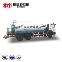 8000L intelligent bitumen sprayer truck asphalt distributor