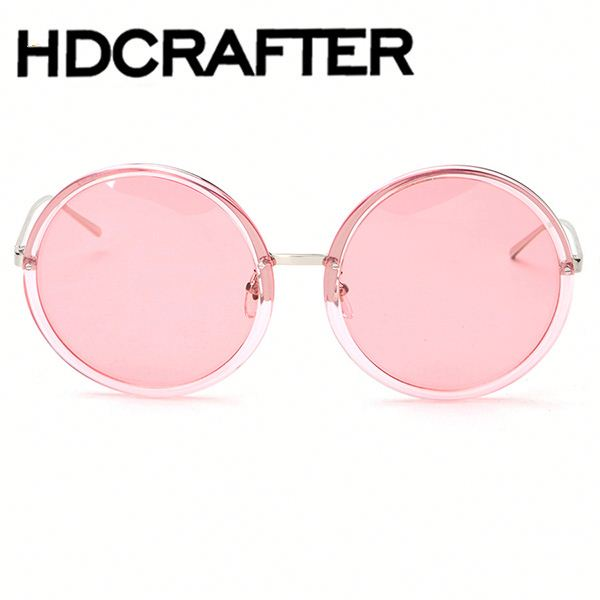 New Polarized Sunglasses Women Brand Round Glasses Vintage Oversized Sunglasses Fashion Gafas de sol
