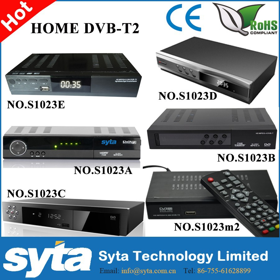 new price HD DVB-T2 Set top box terrestrial digital television TV receiver DVB T2 tuner with DVB-T MPEG-2 MPEG-4