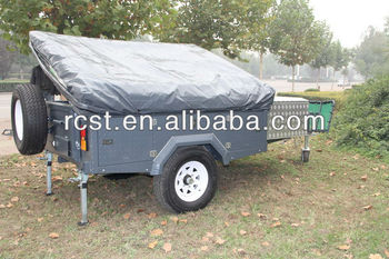 Heavy duty off road camper trailer RC-CPT-08XP