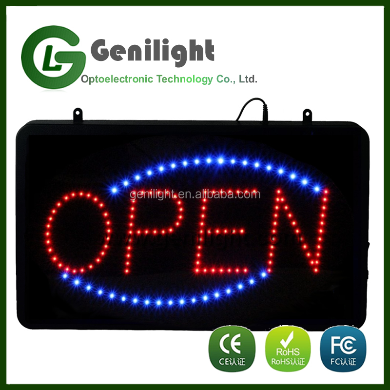 Alibaba.com VIP 5 years Supplier High Quality LED Sign Board with any Logo
