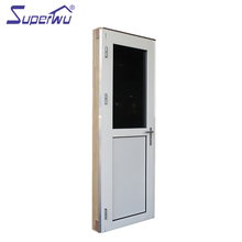 Florida building code heat protection hinged door with built in blind
