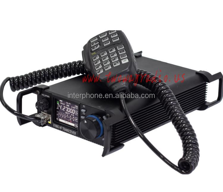 X108G HF QRP HF 0.5 MHz-30 MHz QRP Ham Mobile Radio FCC CE Amateur Car Transceiver CB Two Way Radio
