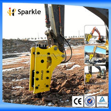 excavator hydraulic breaker spare parts/Supplying fine hammer SP1550 Side Hydraulic Breaker