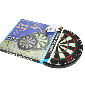 Genuine Bristle Dart Board For Soft-tip/ Steel-tip Darts
