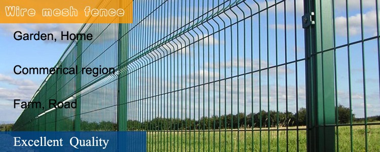 Cheap decorative wire mesh metal garden fencing supplies