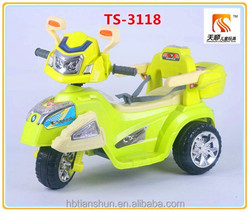Children electric motor car three wheel kids electric motorcycle manufacturer in China