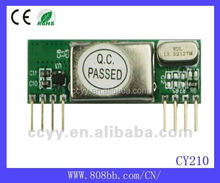 433mhz remote control 2272 decode Wireless receiving module CY210