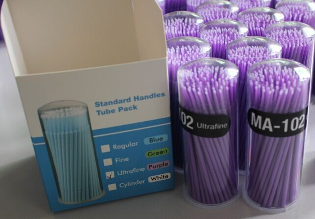 Large: 2.7mm, medium: 2.4mm, small: 2mm Disposable mico brush