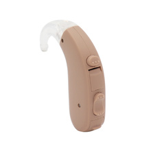Low level expension analog middle power attractive design attractive earhook hearing aids