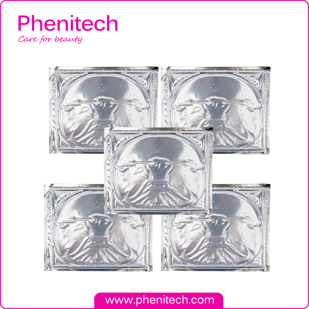 FDA,MSDS Certification and OEM/ODM Supply Type Transparent crystal facial mask