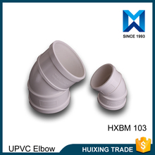 High Quality PVC Plasitic Pipe Fittings 45 Degree Elbow