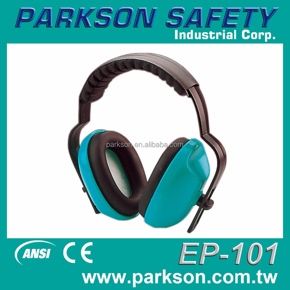 Taiwan Outstanding Reusable Noise Reduction CE EN352-1 ANSI S3.19 Safety Ear Muff EP-101