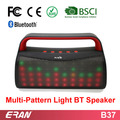Factory Price LED Bluetooth Speaker with 7 Colors and 9 Pattern Effects, 3W*2 LED Bluetooth Speaker