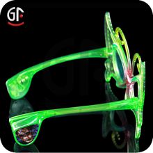 Hot New China Manufactured Butterfly Shaped Led Lighted Glasses
