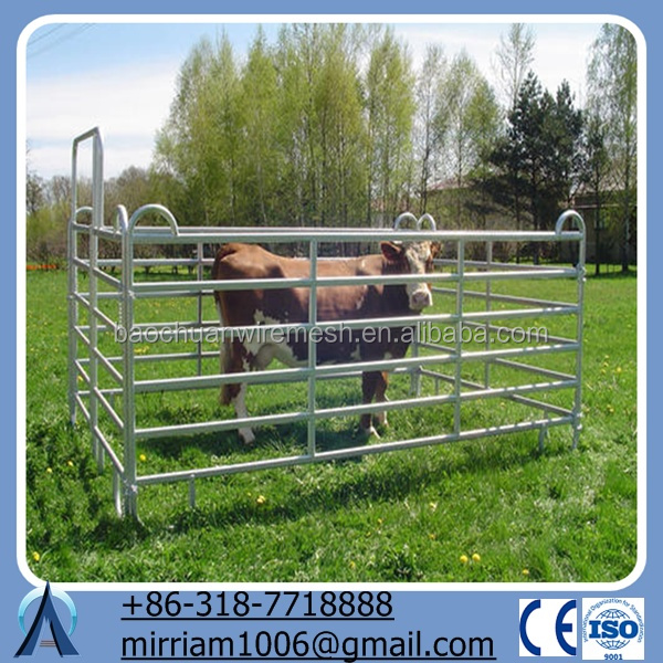 sheep/cattle/buffalo/bull/bovine/cow /corral panel/ paddock fence/farm gates