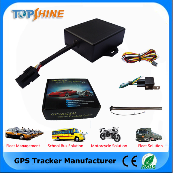 Mini Size Waterproof Internal Antenna GPS Tracker Vehicle For The Motorcycle /Truck/Car/Bus To Dectect ACC +Arm/Disarm(mt08)