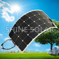 Hot sell low price light weight solar panel prices m2 for RV / Boats