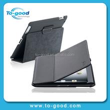 OEM Waterproof PU Leather Tablet Cushion For iPad Mini,Flip Cover Tablet Sleeve For iPad Mini(Black)