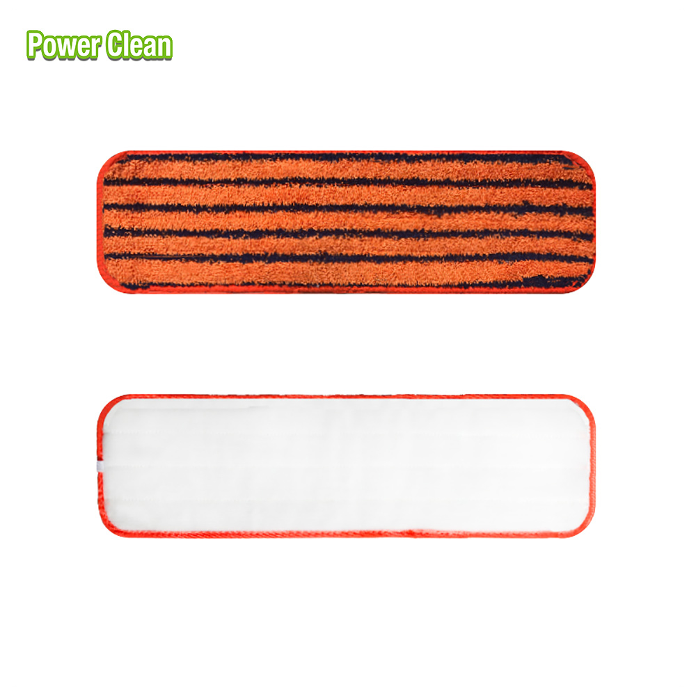 "18"" Microfiber Dry and Wet Mop Refill Pads for Flat Microfiber Mop Frames"