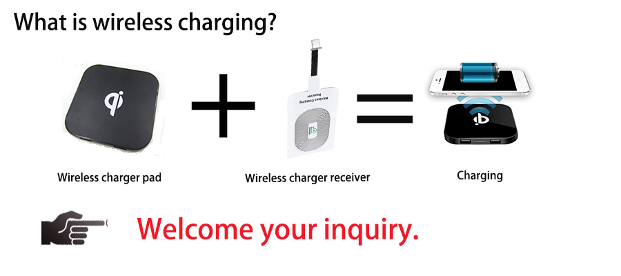 Christmas gifts Wireless Charger Qi Wireless Charging For galaxy j5