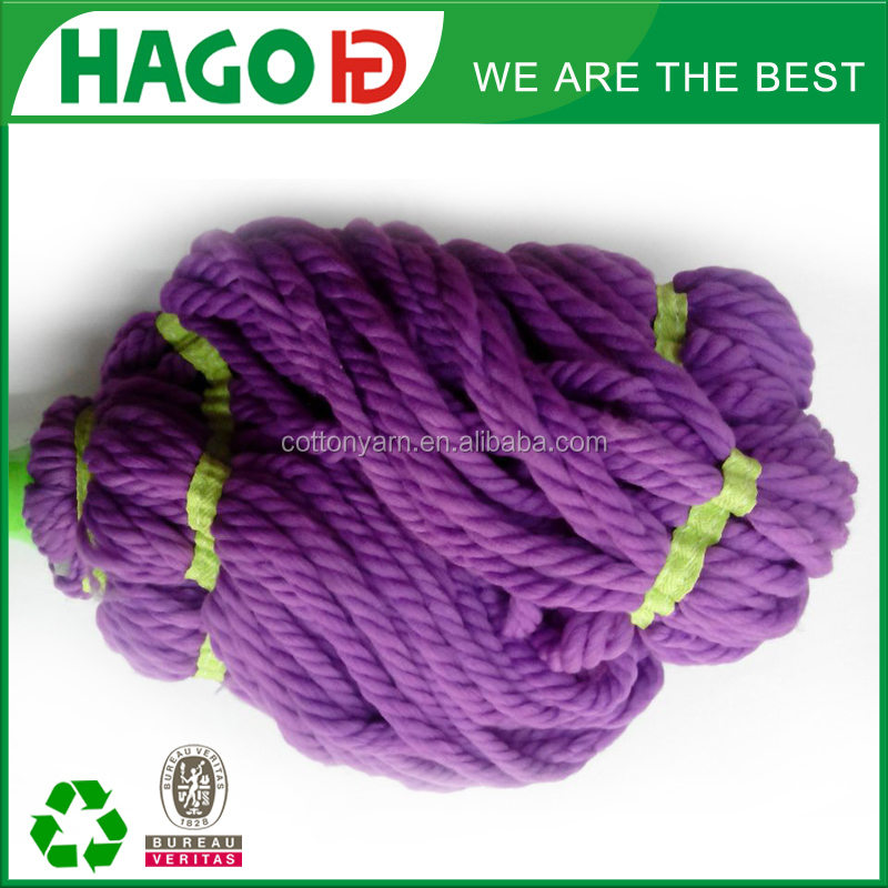 Extension pole easy twist cotton rope mop