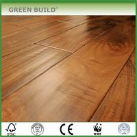 big size waved oak hardwood solid wood flooring