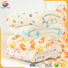 comfortable and breathable baby muslin swaddle blanket